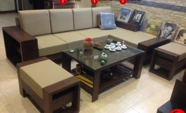 Sofa Gỗ Sồi Nga Hiện đại