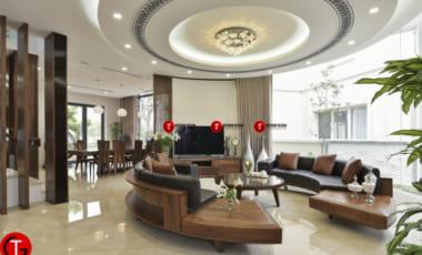 Sofa GỖ Óc ChÓ ĐẸp – ĐiỂm NhẤn HiỆn ĐẠi Cho KhÔng Gian PhÒng KhÁch (sf016)