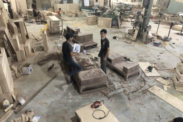 Xưởng sản xuất có diện tích lớn