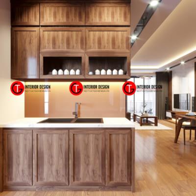 Nhà Bếp Dự án Thiết Kế Và Thi Công Chung Cư D Capital Trần Duy Hưng