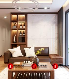 Phòng Khách Dự án Thiết Kế Và Thi Công Chung Cư D Capital Trần Duy Hưng
