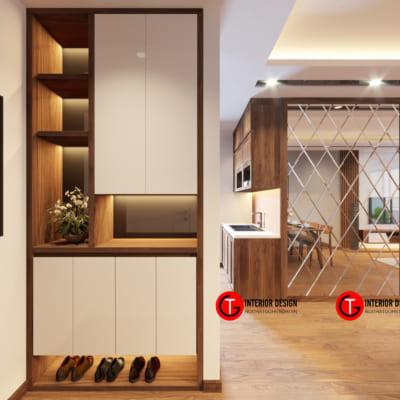Tủ Giày Dép Dự án Thiết Kế Và Thi Công Chung Cư D Capital Trần Duy Hưng