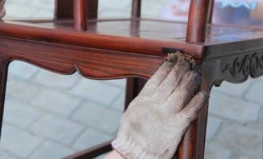 hướng dẫn sử dụng đồ gỗ nội thất gỗ óc chó như mới