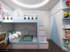 Giường tầng chung cư đẹp