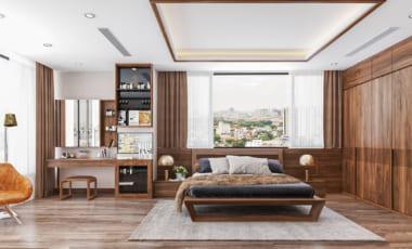 Phòng ngủ diện tích rộng